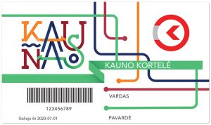 Kauno kortelė, Kauno viešasis transportas, Kauno autobusai, Kauno Žiogas, Kaunas public transport, elektroninio bilieto kortelė